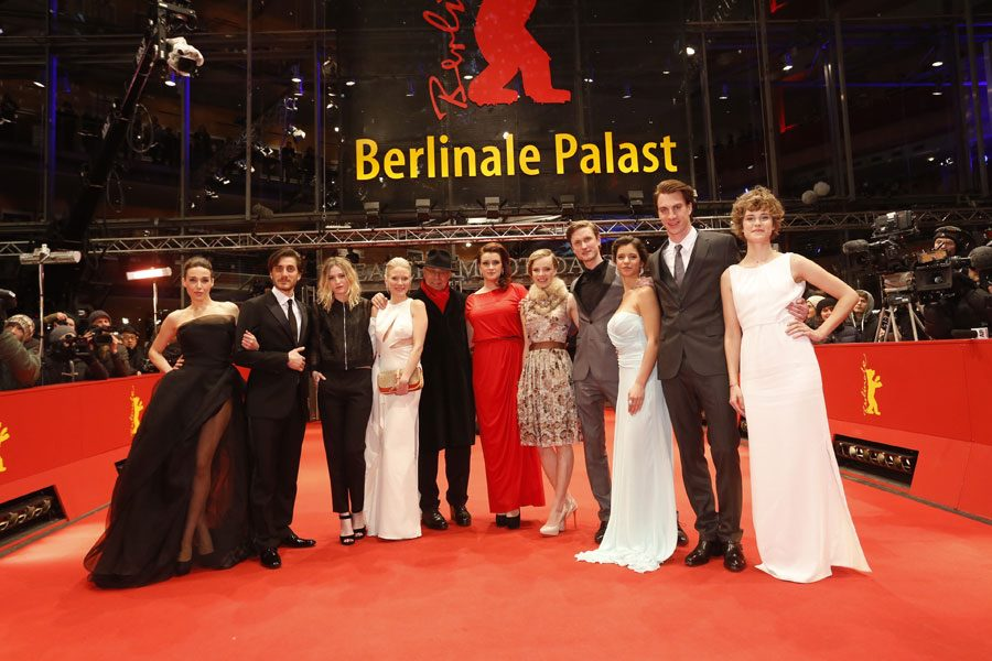 Ada Condeescu and Shooting Stars 2013 winners at the Berlinale