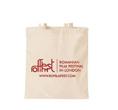 Romanian Film Festival 2012 Promotional Tote Bag