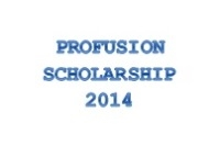 Picture of THE PROFUSION SCHOLARSHIP SCHEME 2014